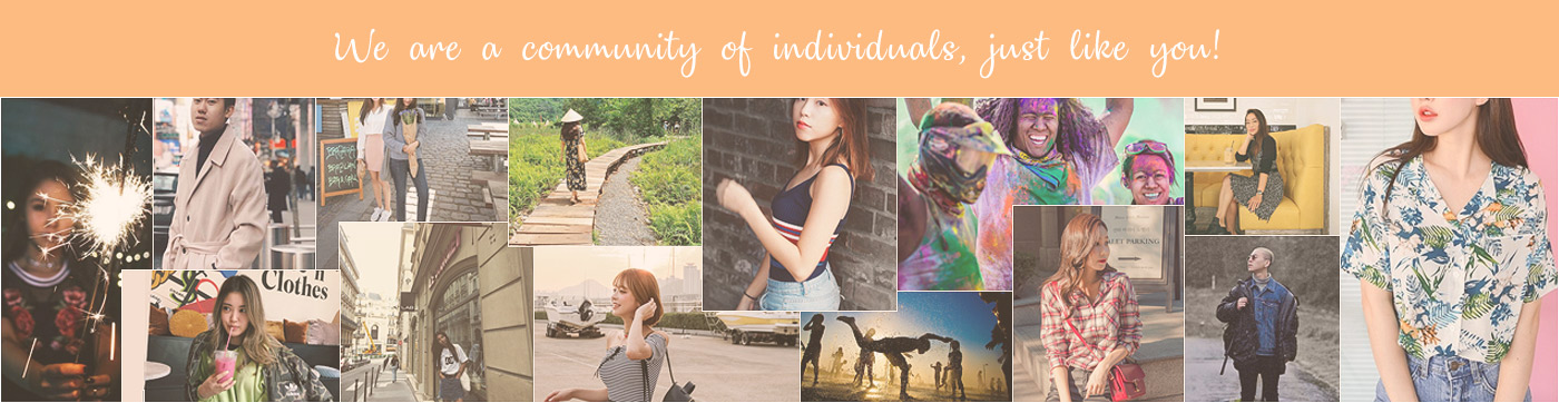 We are a community of individuals just like you!